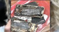iPhone 7 bắt lửa và phát nổ trên xe hơi