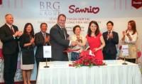 Tập đoàn BRG ký thỏa thuận hợp tác với Công ty Sanrio Hồng Kông