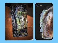 Case bảo vệ trang trí iPhone thành chiếc Galaxy Note 7 bị nổ