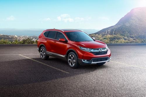 Honda ra mắt CR-V 2017 với nhiều cải tiến về ngoại thất