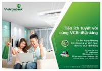 Cơ hội trúng thưởng khi đăng ký và kích hoạt VCB-iB@nking