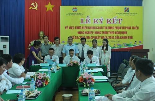 Agribank ký kết thỏa thuận với Hội Nông dân Đăk Lăk