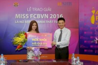 SHB đồng hành cùng Cuộc thi Miss FC Barcelona Việt Nam 2016
