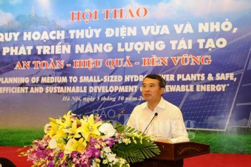 Thúc đẩy phát triển năng lượng tái tạo hiệu quả bền vững