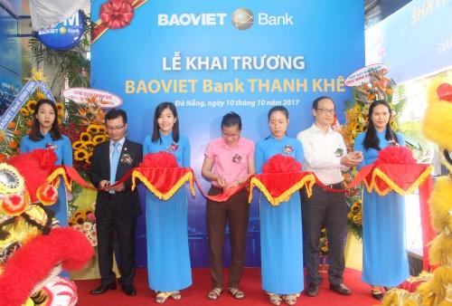 BAOVIET Bank khai trương Phòng giao dịch Thanh Khê