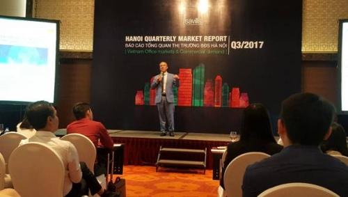 Giao dịch căn hộ để bán tại Hà Nội giảm trong quý III
