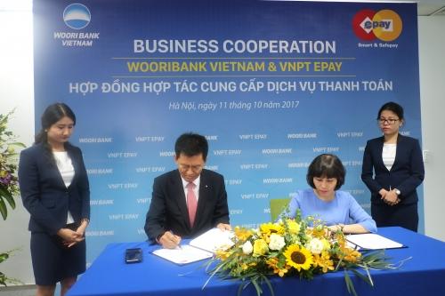 VNPT EPAY và Ngân hàng Woori Việt Nam hợp tác dịch vụ thanh toán trực tuyến
