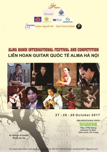 """Liên hoan guitar cổ điển Festival """"Alma Hanoi"""""""