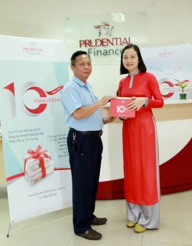 Công ty Tài chính Prudential: Luôn nỗ lực để hỗ trợ khách hàng