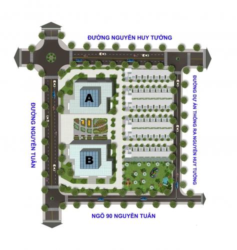 Xây trường mầm non tại Dự án Thống Nhất Complex (Thanh Xuân, Hà Nội)