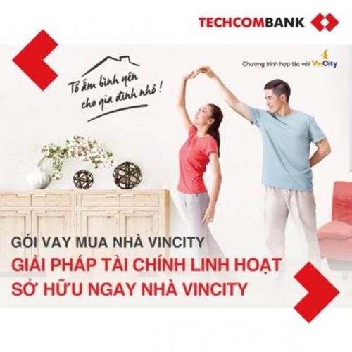 Techcombank triển khai gói vay với thời hạn lên tới 35 năm