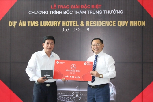 TMS Luxury Hotel & Residence Quy Nhon: Mua căn hộ, nhận thưởng xe Mercedes hơn 2 tỷ đồng