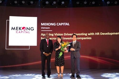 Mekong Capital nhận giải thưởng đóng góp cho cộng đồng nhân sự