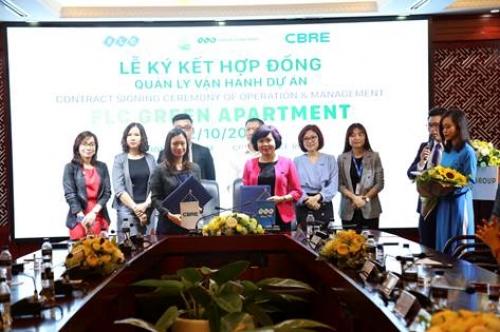 CBRE quản lý độc quyền dự án FLC Green Apartment