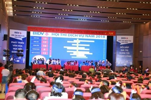 BIDV tổ chức thành công Hội thi Dịch vụ 2018