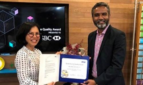 HSBC Việt Nam nhận giải thưởng Chất lượng Dịch vụ Toàn cầu