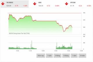 Chứng khoán sáng 24/10: Cổ phiếu dầu khí đồng loạt lao dốc