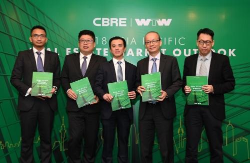 CBRE lần thứ 7 được vinh danh là đơn vị tư vấn BĐS hàng đầu Việt Nam