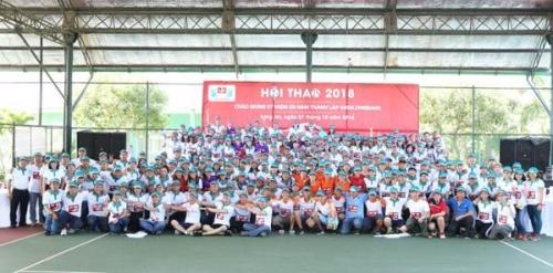 Hội thao kỷ niệm 23 năm thành lập Kienlongbank