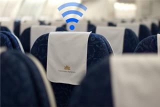 Vietnam Airlines cung cấp Wi-Fi trên máy bay từ 10/10