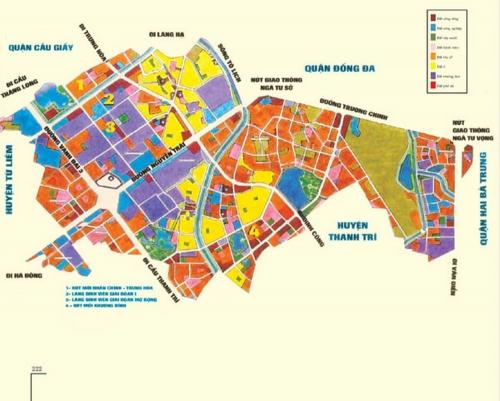 Đề nghị công khai quy hoạch, kế hoạch sử dụng đất tại trụ sở UBND
