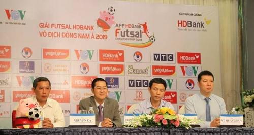 Giải Futsal HDBank Đông Nam Á: Việt Nam nằm cùng bảng với Australia