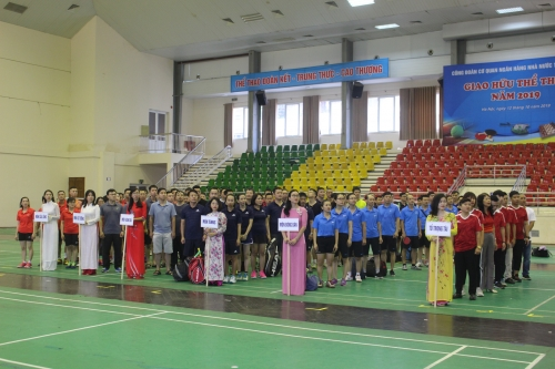 Sôi động giao lưu thể thao NHNN Trung ương 2019