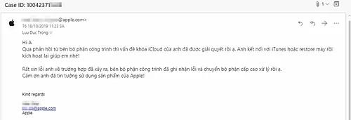 Apple mở khoá iPhone cho nạn nhân của iCloud Relocker