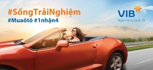 VIB dành nhiều ưu đãi tại Vietnam Motor Show 2019