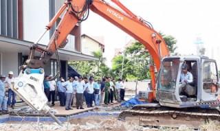 TP.HCM: Tổ chức cưỡng chế tháo dỡ các công trình xây dựng vi phạm