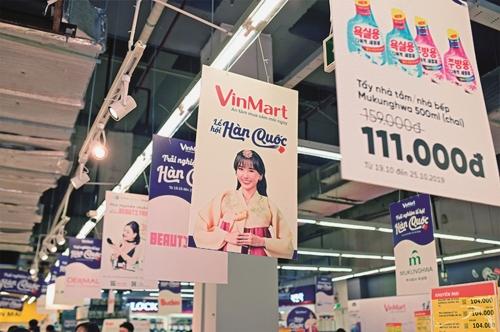 VinMart góp phần thúc đẩy thương mại Việt-Hàn