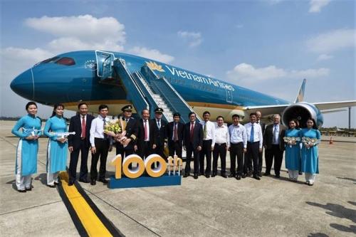 Vietnam Airlines hoàn thiện đội tàu bay thân rộng