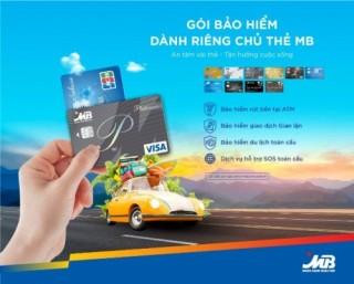 Chủ thẻ MB được bảo hiểm khi gặp rủi ro