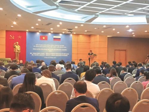 Nỗ lực thúc đẩy thương mại và đầu tư Việt – Nga