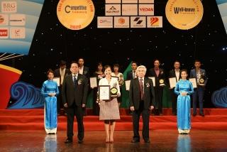 Ngân hàng duy nhất đạt giải thưởng Top 10 nhãn hiệu nổi tiếng Việt Nam 2020