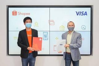 Shopee và Visa ký kết hợp tác chiến lược 5 năm