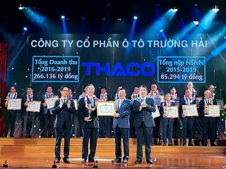 5 năm, Thaco nộp 85.294 tỷ đồng tiền thuế