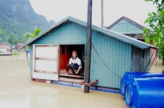 BIDV dành 1 tỷ đồng hỗ trợ đồng bào bị ảnh hưởng bởi lũ lụt