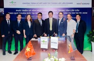 Novaland và MediVerbung AG hợp tác thành lập liên doanh