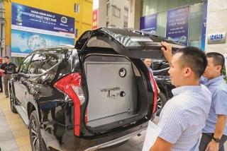 Công ty Ngân Lực tiếp tục bàn giao xe chở tiền cho BIDV