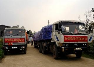 Bộ Tài chính xuất cấp 5.000 tấn gạo hỗ trợ nhân dân vùng bị thiên tai, mưa lũ