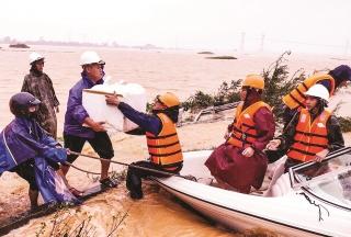 Quảng Trị thiệt hại nặng nề do mưa bão
