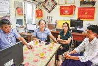 Quỹ tín dụng nhân dân xã Ngũ Đoan: Xây dựng vững chắc niềm tin
