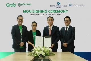 Tài chính Shinhan tại Việt Nam và Grab Việt Nam ký thỏa thuận hợp tác chiến lược