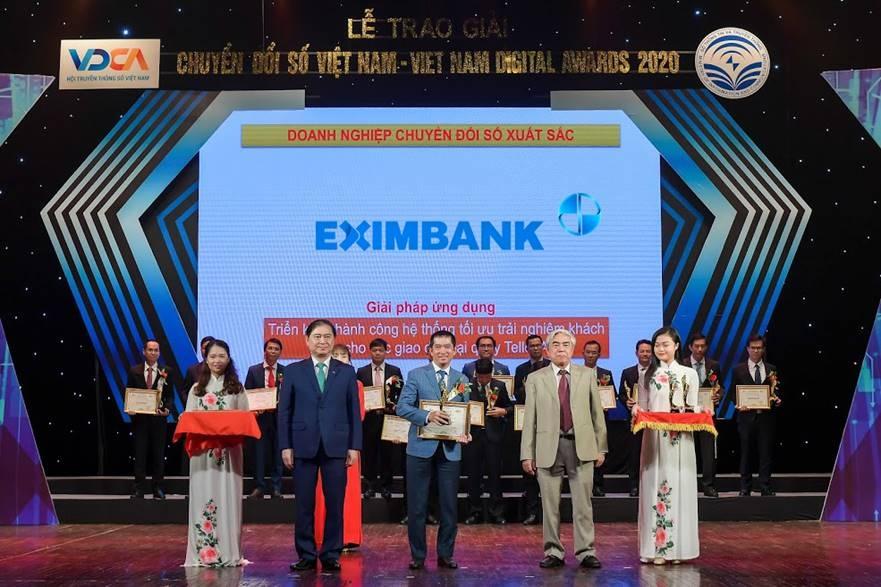 eximbank nhan giai thuong chuyen doi so viet nam 2020