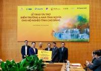 """""""Bầu Hiển"""" ủng hộ 5 tỷ đồng xây điểm trường, nhà tình nghĩa cho người nghèo tỉnh Cao Bằng"""