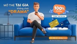 Ở nhà cũng có thể đăng ký mở thẻ tín dụng Sacombank