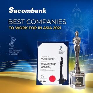 Sacombank có chính sách nhân sự minh bạch, chuyên nghiệp