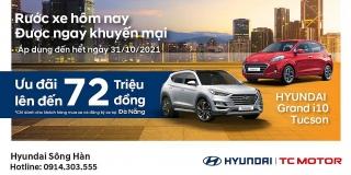"""Hyundai Sông Hàn thực hiện chương trình """"Rước xe hôm nay, được ngay khuyến mãi"""""""