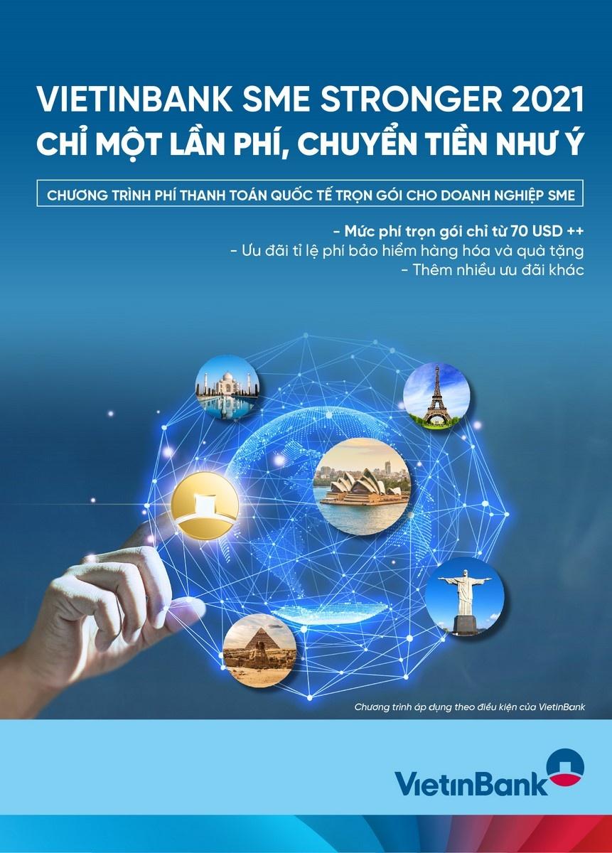 vietinbank sme stronger 2021 chi mot lan phi chuyen tien nhu y